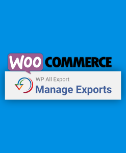 Woocommerce logo & WP All Exports